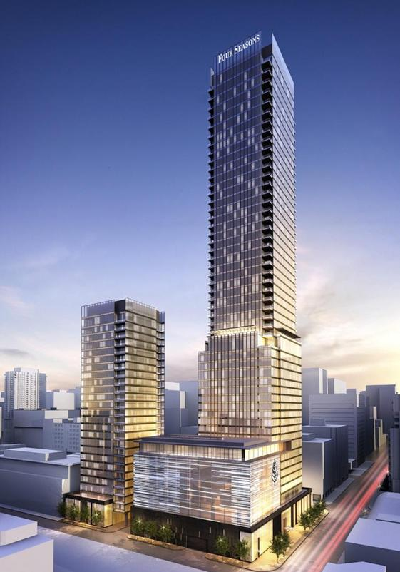 The Building Four Seasons Private Residences At 55
